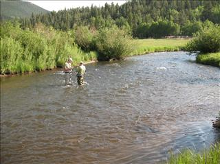 A 10 tarryall creek at lazy river ranch rocky mountain for Tarryall reservoir fishing